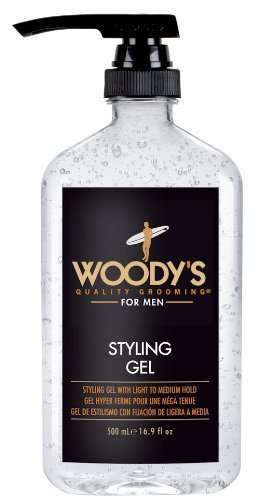 Woody's Styling Gel with Light to Medium Hold for...