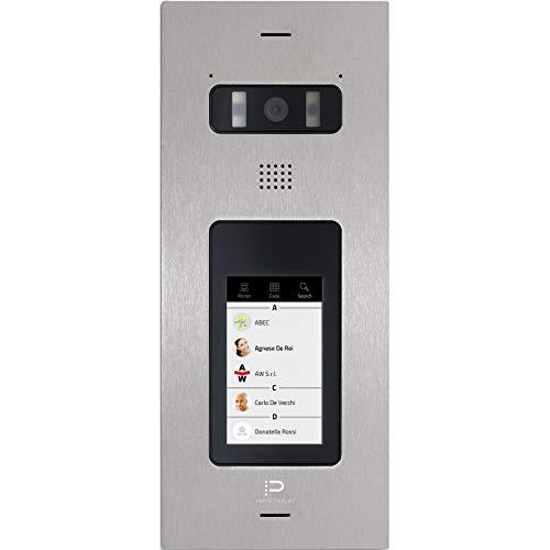 """Balter Z200D InfinitePlay IP Video-Türstation, 4.3\"""" Touchscreen, HD Kamera, Weißlicht-LEDs, PoE"""
