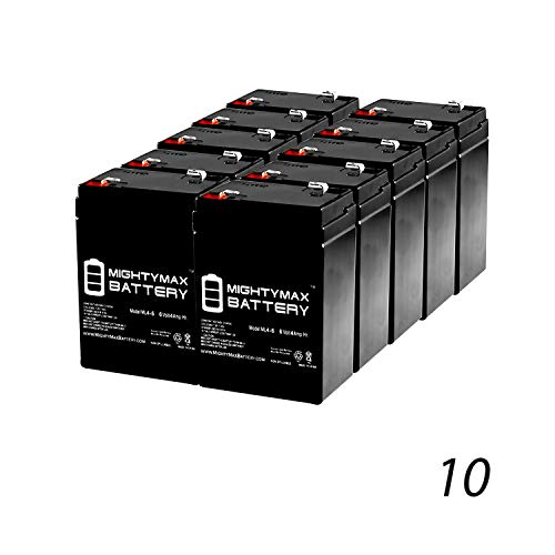 Mighty Max Battery 6V 4.5AH SLA Battery Replaces Power Patrol SLA0905, SLA090-10 Pack Brand Product