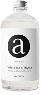 White Tea and Thyme for Aroma Oil Scent Diffusers - 500 milliliter