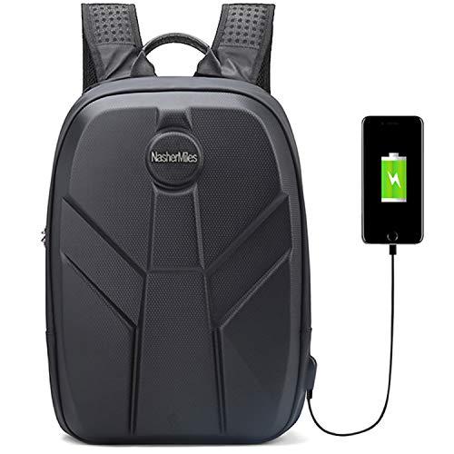 Nasher Miles Black Etna Laptop Backpack 24 L