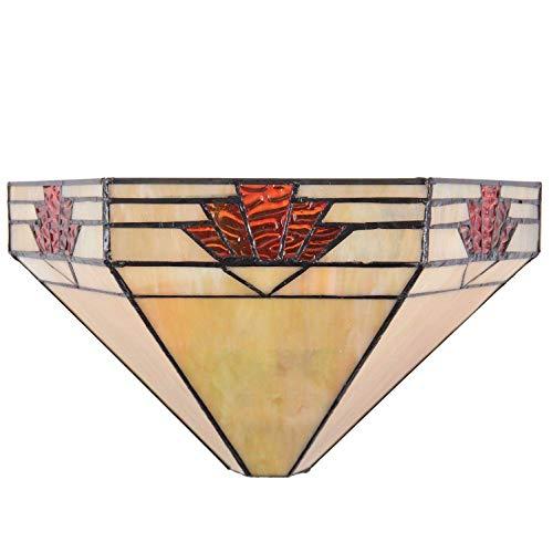 Clayre & Eef 5LL-5213 Wandlampe, mehrfarbig, 31 x 15 x 17 cm