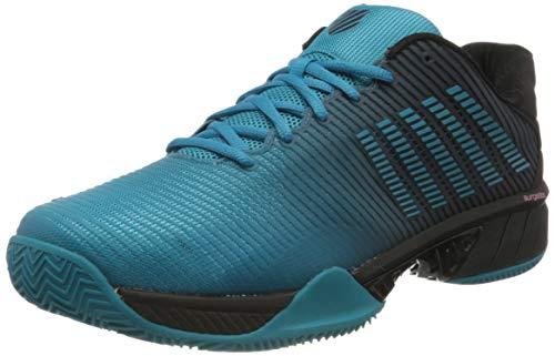 Dunlop Herren Hypercourt Express 2 HB Sneaker, Algiers Blue/Black, 47 EU