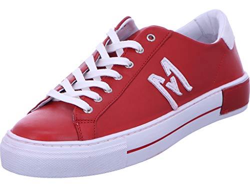 Maca Kitzbühel Sneaker Schnürhalbschuh Freizeit Damen Rot Größe 40 EU Rot (rot)