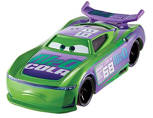 Jurassic World Disney Cars Toys H.j. Hollis, Miniature, Collectible Racecar Automobile Toys Based on Cars Movies, for Kids Age 3 and Older, Multicolor