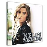 Nelly Furtado Leinwand-Poster, Motiv: Live Session,