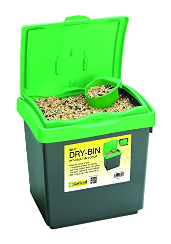 GADINO GP173 Dry-Bin with Lid, 8-Gallon
