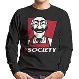 Cloud City 7 Fsociety Fast Food Colonel Mr Robot Men's Sweatshirt