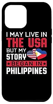 iPhone 12 Pro Max Filipino American Flag Pride DNA Proud Philippines Born Case