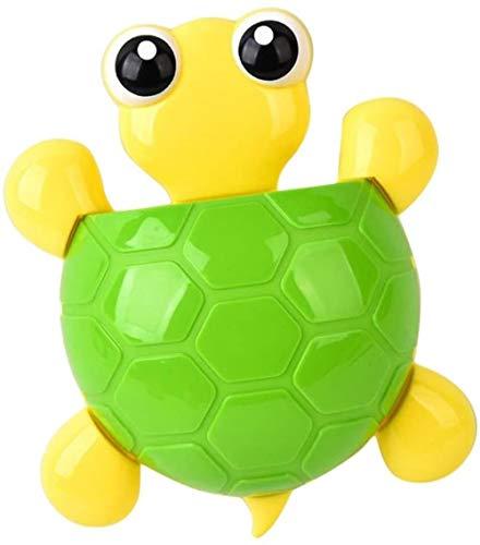 SLL Spielzeug Spielzeug-Kind-Zahnbürste-Halter-Schildkröte formte Wandhalterung Zahnbürste, Zahnpasta-Halter Wandhalterung