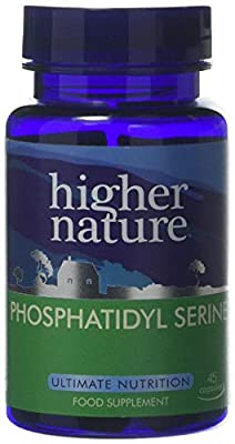 Higher Nature Phosphatidyl Serine Pack of 45