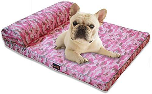 CCLLA Cama para Perros Salón ortopédico para Mascotas Sofá-Estilo Sala de Estar Sofá Cama para Mascotas/Funda extraíble para Perros Estilos de Gatos, 4, XL