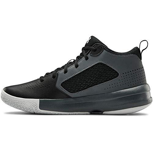 Under Armour Herren 3023949-001_47 Basketball shoes, Schwarz, 47 EU