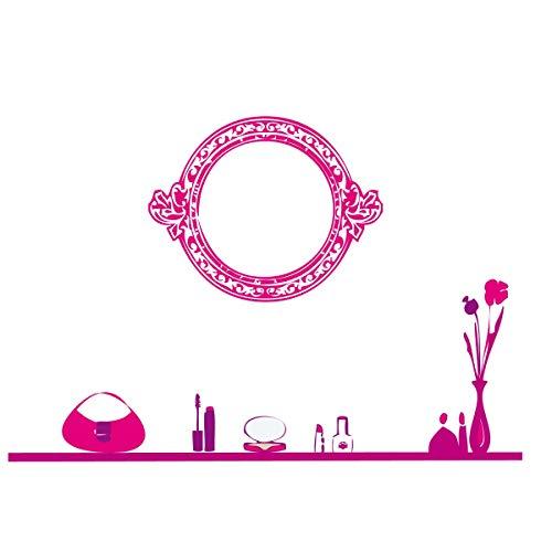 Sticker kaptafel Fuchsia roze