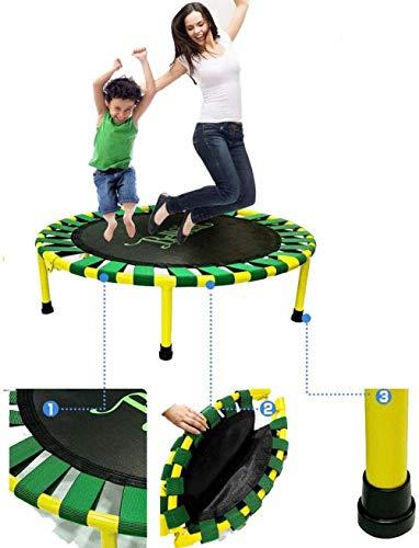 LKFSNGB Mini Trampoline pour enfants en S Antidérapant Silencieux Intérieur et Extérieur Doux Ce qui est le meilleur cadeau pour garçons filles et enfants Charge 100 kg