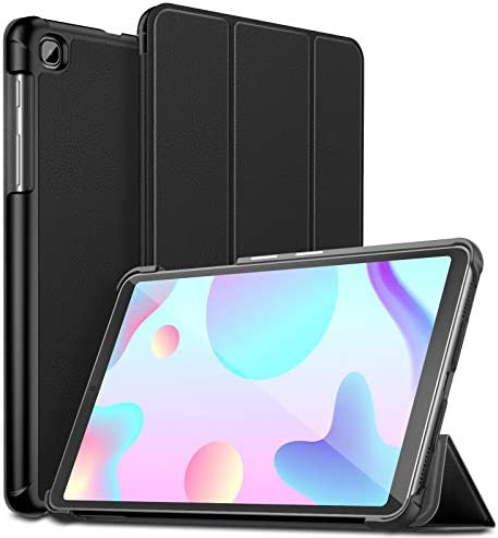 INFILAND Galaxy Tab A 8.4 2020 Case, Slim Tri-Fold Shell Case Cover Compatible with Samsung Galaxy Tab A 8.4-inch Model SM-T307 2020 Release Tablet Verizon/T-Mobile/AT&T, Black