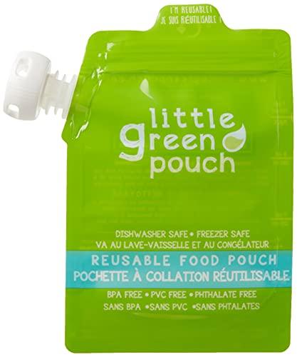 Little Green Pouch Reusable Food Pouch - 6 oz - 4 ct