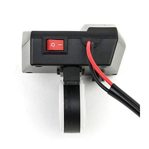 linger Cargador de Motocicleta Impermeable Teléfono Carga rápida ATV ATV Ajuste Ajuste para GPS