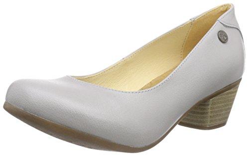Jonny'sSeneka - Zapatos de tacon para mujer, color gris (grau cloud), talla 39