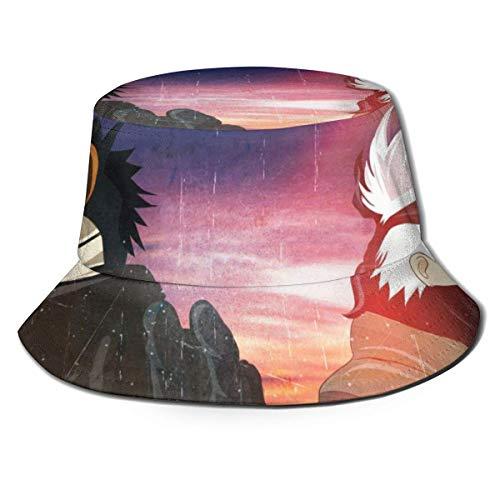 Kakashi Hadsome Bucket Sun Hat para Hombres y Mujeres - Gorra de Pescador de Verano Plegable de protección para Pesca, Safari, Paseos en Bote por la Playa