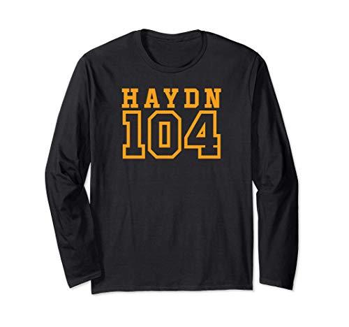 ハイドン104クラシック音楽交響曲作曲家 Haydn 104 長袖Tシャツ