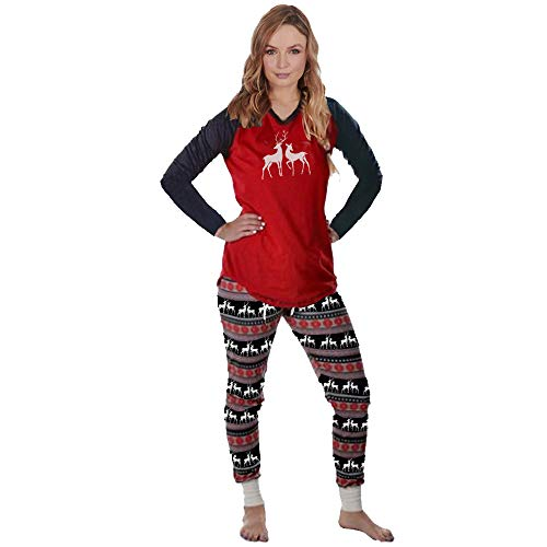 Conjunto de Pijamas Familiares de Navidad