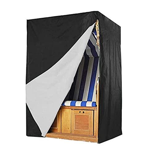 HTHJA Oxford Funda Protectora para Mesa de Comedor,,Cubierta al Aire Libre de la Silla de Playa, Cubierta 135 * 105 * 175/140 de los Muebles del jardín del paño de 210d Oxford