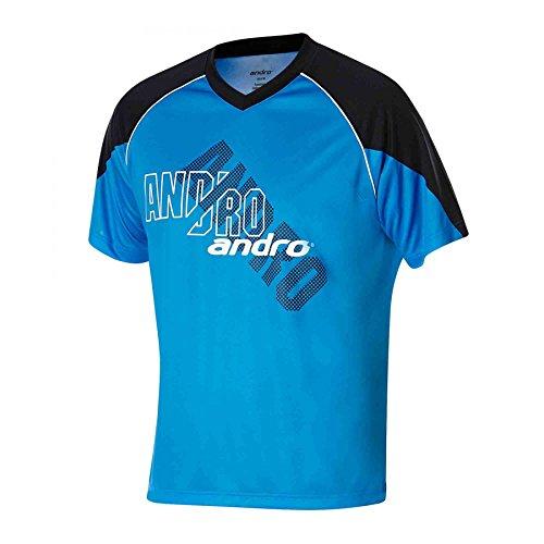 Andro T-Shirt Brady (Restposten), XXL, Deepsea/schwarz