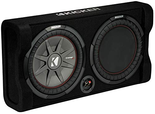 "KICKER 47TRTP122 Down-Firing 12"" CompRT 2-Ohm Enclosure"