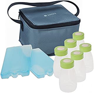 Ardo Cool Bag Complete - Enables Safe Transportation of breastmilk - Six Bottles and Two Cooling Elements - Breastmilk Sto...