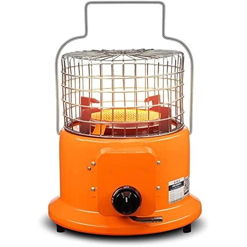 WUIO Calentador De Gas Portátil para Patio, Fogatas De Gas Portátil con Regulador De Gas Propano, Placa Calefactora De Cerámica De Panal, para Acampar con Calefacción En Interiores Y Exteriores