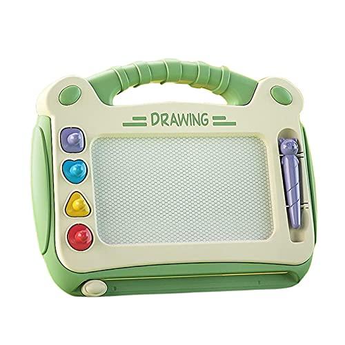 adfafw Tablero de Dibujo magnético para Escritura y Aprendizaje, Juguete para niños pequeños, niñas, de 3 4 5 6 años de Edad masterly