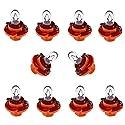 Glühlampen Instrumentenbeleuchtung 10er Set 12V 1,1 Watt Sockel BX8,4D Orange