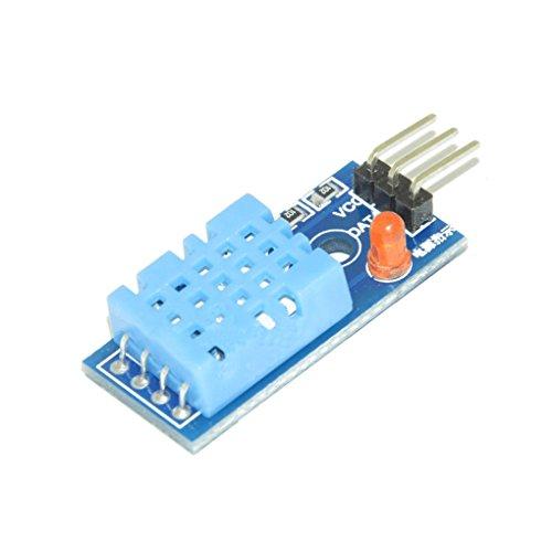 Busirde DHT11 DHT11 Digital de Temperatura y el módulo Sensor de Humedad Relativa para Arduino