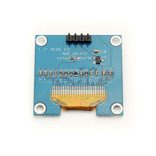 Módulo electrónico 4Pin White OLED LCD Pantalla LCD 12864 IIC I2C Módulo de Interfaz - Productos Que Funcionan con tableros Oficiales de 1.3 Pulgadas