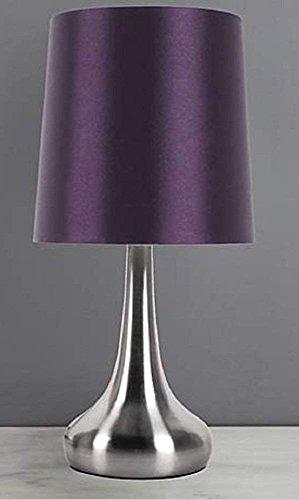 Stunning Rimini Touch Lamp Bedside Sideboard Desk Table Lamp (Purple)