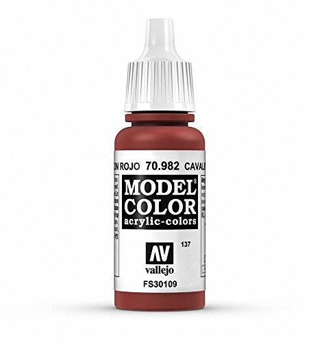 VALLEJO Model Color Pintura Acrílica, Marrón (Calvary Brown), 17 ml