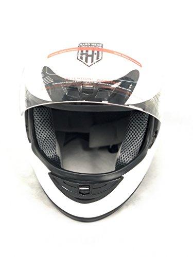 Hard Head Helmets Full Face Helmet DOT Approved for Street Bike, Motorcycle, Chopper, UTV, ATV,...