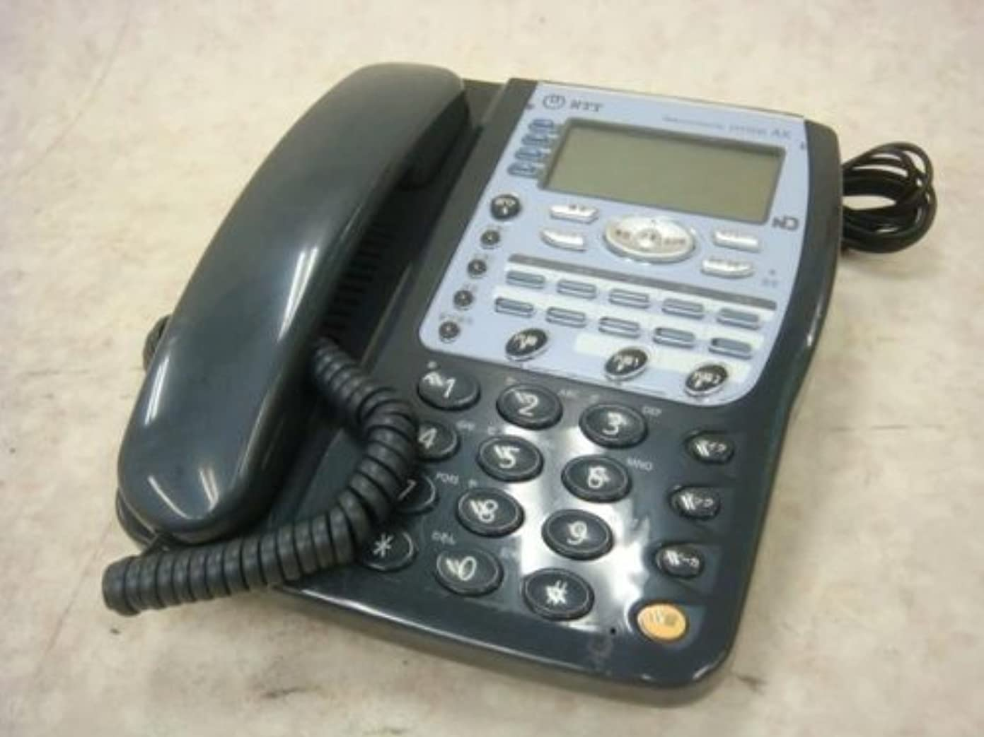 必須スカイバスAX-IRMBTEL(1)(K) NTT AX ISDN主装置内蔵電話機 [オフィス用品] ビジネスフォン [オフィス用品] [オフィス用品] [オフィス用品]
