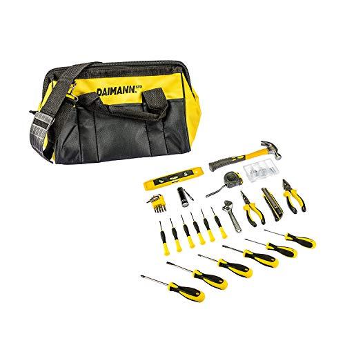 Daimann ST01 tas met kit 102 gereedschapskoffer voor werken officina met schroevendraaier, gereedschapskist, compleet