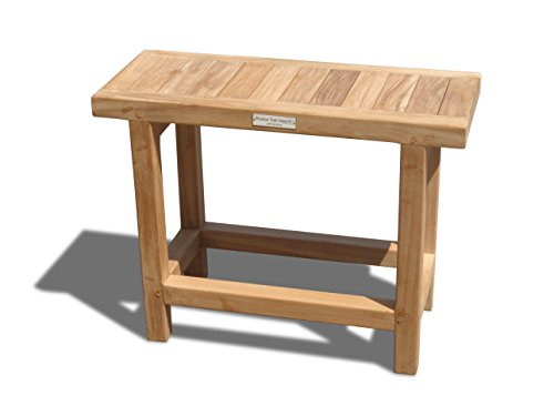 "Windsor's Genuine Grade A Teak Fenwick 24"" x10"" Side Table or Shower Stool.Take Your Pick!. World's Best Outdoor Furniture! Teak Lasts A Lifetime!"