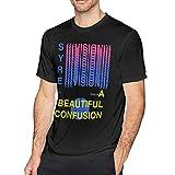Jaden Smith Man Fashion Short Sleeve Cotton T-Shirt Black L