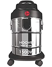 Hoover Wet and Dry 1500W Vacuum Cleaner, Silver, 18 Liters, HDW1-ME