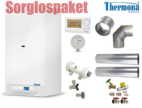 Thermona Sorglospaket Gas-Kombitherme Etagenheizung 8-20 kW