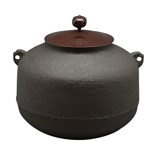 伊藤庄鋳造(Itousyouchuzou) 茶釜 茶色 サイズ:直径21.5x高さ20.5cm 風炉釜 阿弥陀