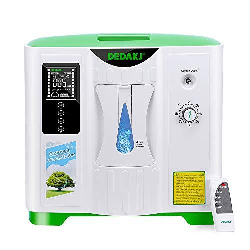Sauerstoffkonzentrator, 2-9L / min einstellbare tragbare Sauerstoffmaschine für den Heim- und...