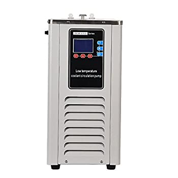 HNZXIB Laboratory 5L Cooling Chiller -10℃ Low-Temperature Cooling Liquid Circulating Pump for Low-Temperature Cooling Cycle Reaction 110V)