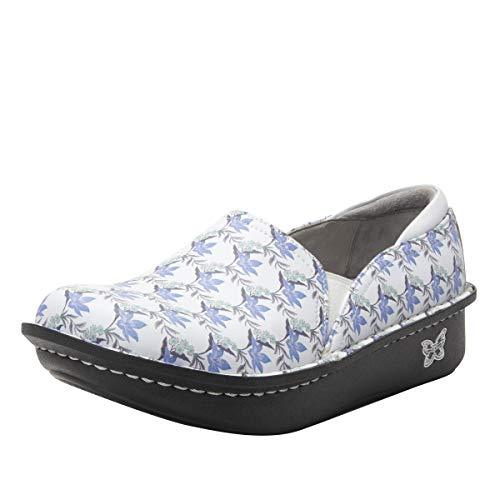 Alegria Women's Debra Aloha White Leather Shoes 8 M US