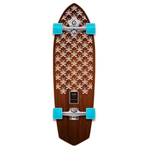 YOW Padang 34' Power Surfing Series Surfskate Skateboard, Adultos Unisex, Multicolor (Multicolor), 10' x