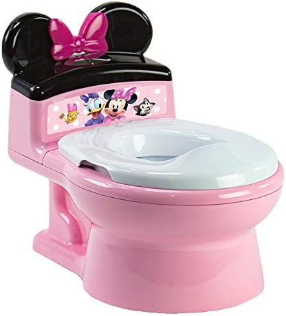 The First Years Minnie Mouse Imaginaction Potty Trainer Seat Pink product image